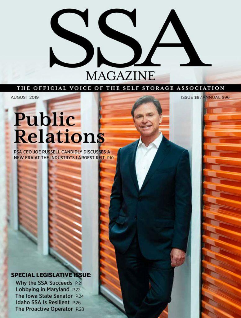 CEO of Public Storage